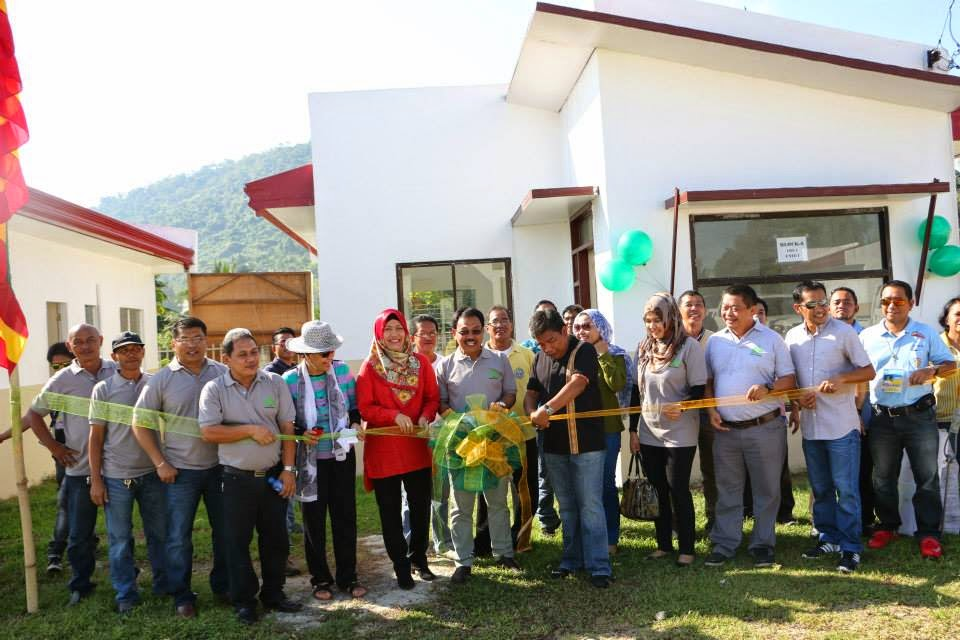 ARMM tribal villages open at the ORG complex