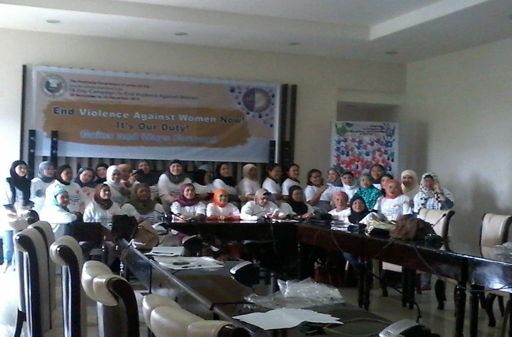 CULMINATION PROGRAM OF THE 18-DAY CAMPAIGN TO END  VIOLENCE AGAINST WOMEN (VAW)
