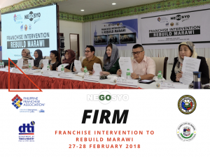 Franchise Intervention to Rebuild Marawi